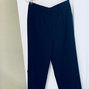 Brooks Brothers Black wide Leg Slacks Pants EUC